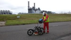 Grondradarscan petrochemische industrie