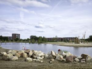 Harderwijk, juli 2019Crescentpark door VIC Landscapes.Foto: Walter Herfst