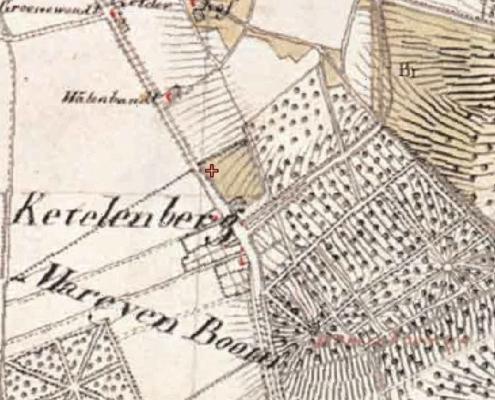 Milieuatlas Nijmegen kaart 1820_Geofoxx