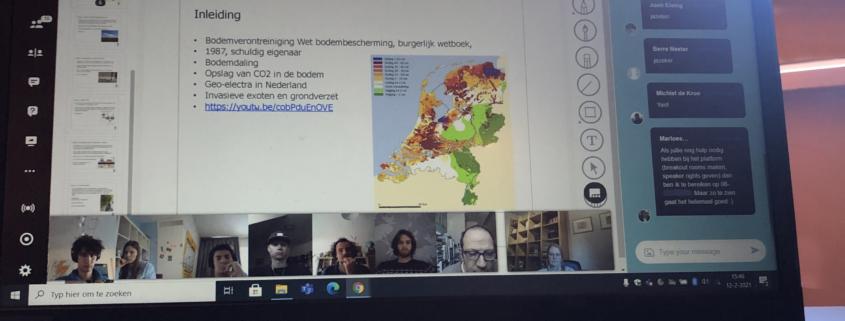 Online workshop VU studenten tijdens Career Event_Geofoxx